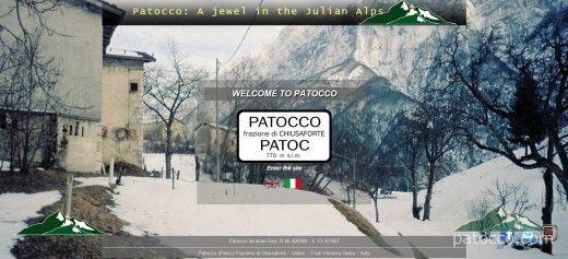patocco.com - website screenshot