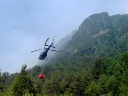 Elicottero fire fighting incendio di Patocco 3 Agosto 2013