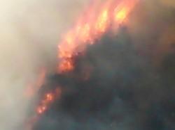 fiamme a Patocco