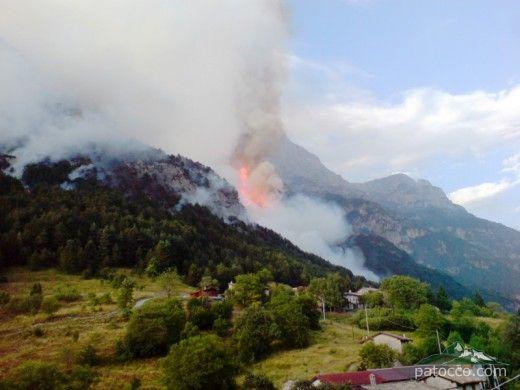 Fireball in RIo Chiout Cali Val Raccolana