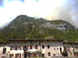 Incendio Patocco 4 Agosto 2013 nel pommerigio