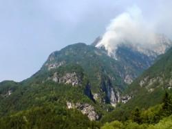 Incendio Boschivo Patocco 2 Aogosto 2013 sul Monte Jovet